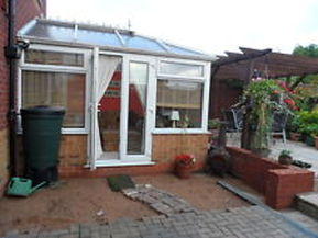 Standard conservatory just had replacement glass units roof repairs and repair to window locks