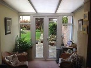 Conservatory With UPVC Doors, Windows And Polycarbonate Roof