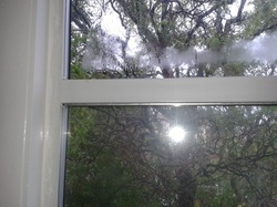 Double glazing condensation